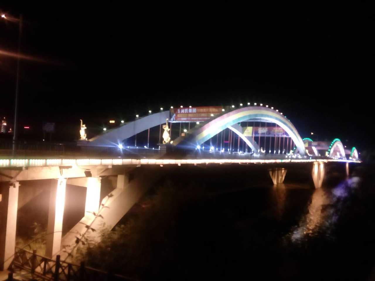 漯河桥夜景