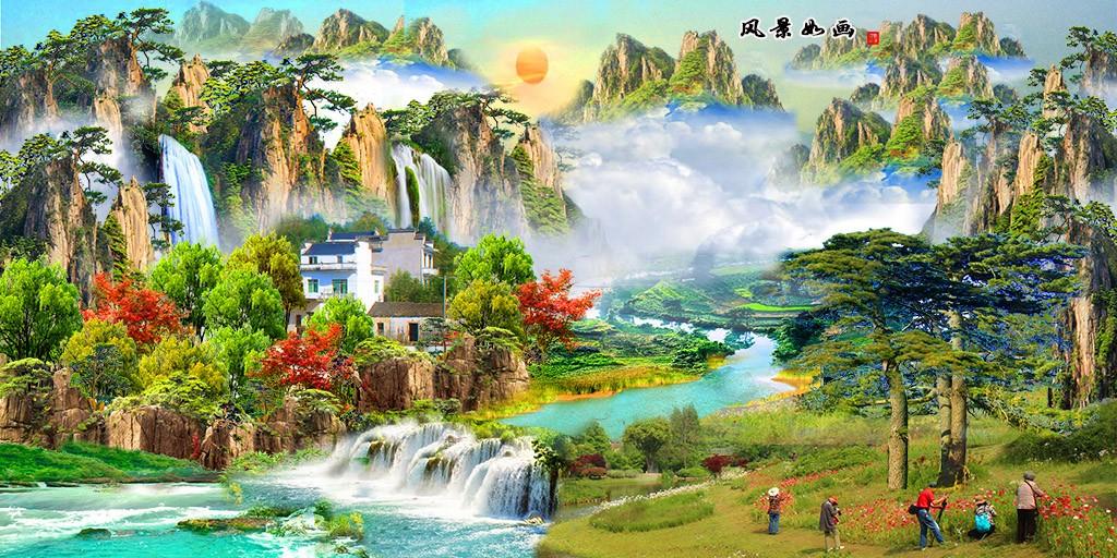 祖国山河美