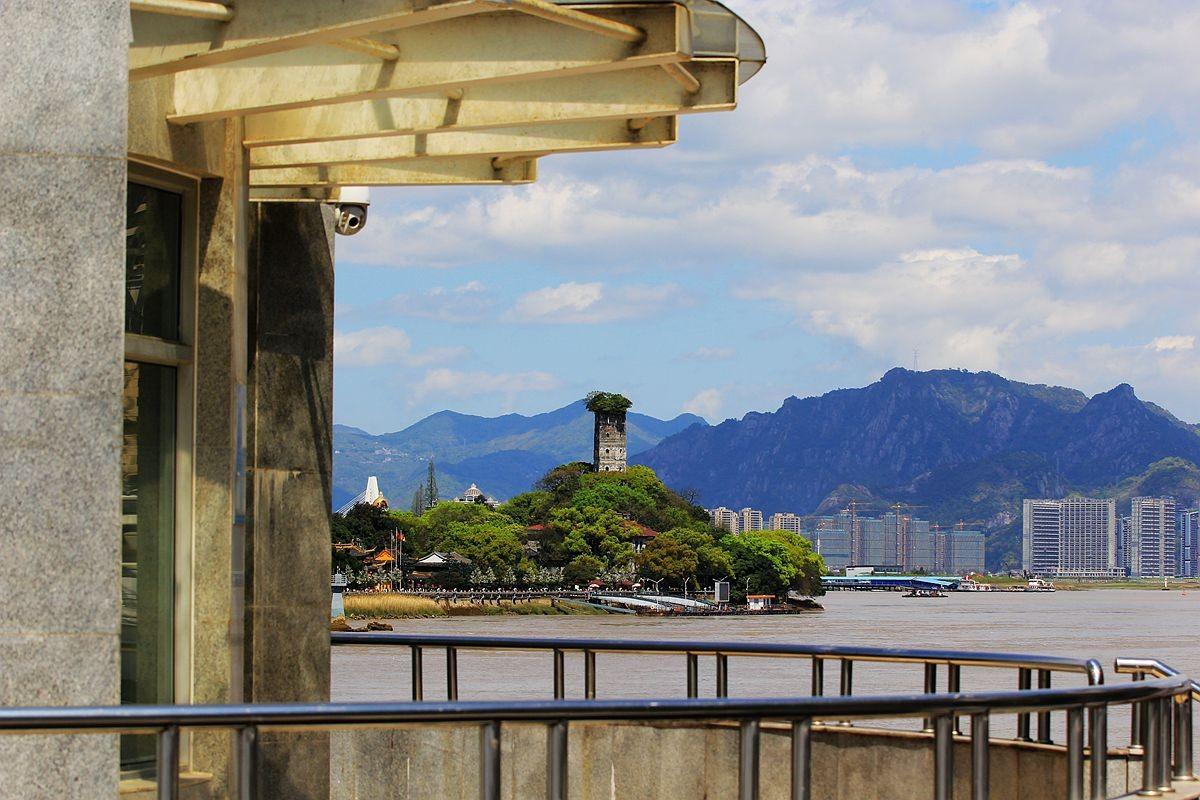 江边风景(二)