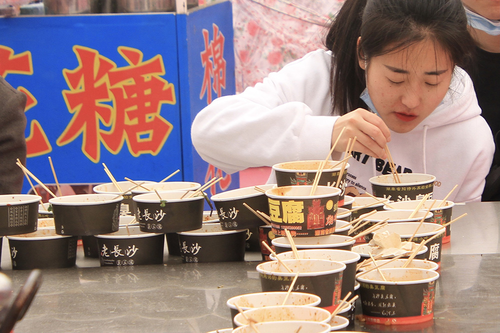 青岛李村首届美食节随拍